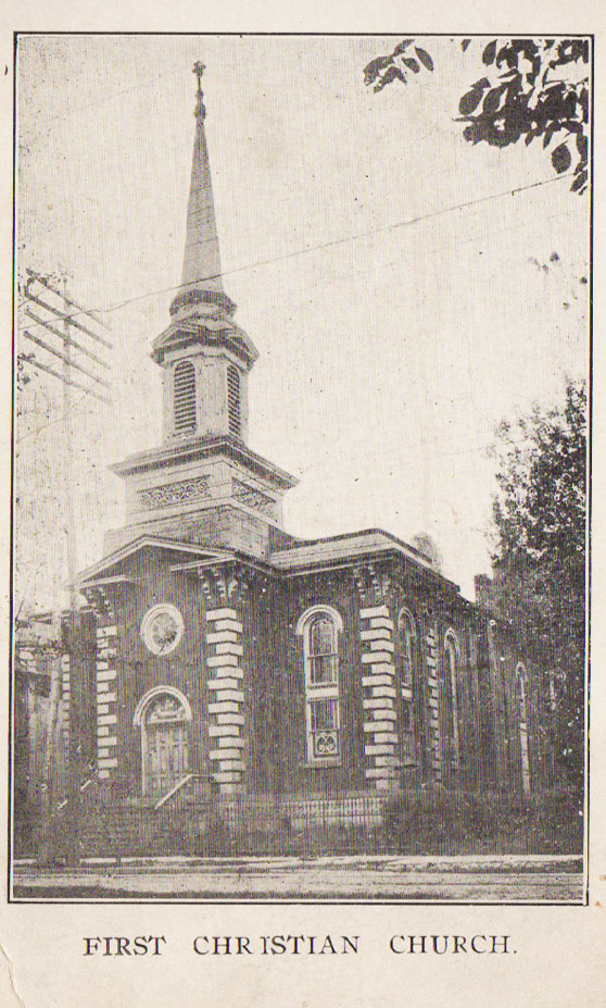 First Christian Church on North Main Avenue